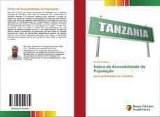Capa do livro de Índice de Acessibilidade da População