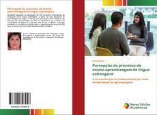 Capa do livro de Percepção do processo de ensino-aprendizagem de língua estrangeira