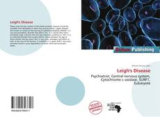 Bookcover of Leigh's Disease