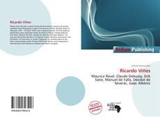 Обложка Ricardo Viñes