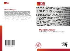 Bookcover of Musical Analysis
