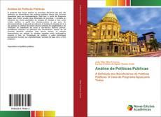 Análise de Políticas Públicas kitap kapağı