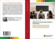 Capa do livro de DIREITO À EDUCAÇÃO BÁSICA NO BRASIL