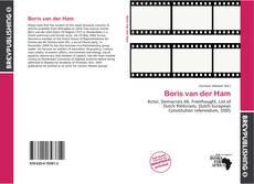 Buchcover von Boris van der Ham