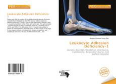 Copertina di Leukocyte Adhesion Deficiency-1