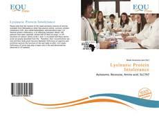 Portada del libro de Lysinuric Protein Intolerance