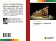 Portada del libro de Econometria de fenômenos qualitativos