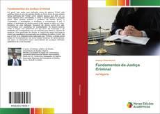 Buchcover von Fundamentos da Justiça Criminal