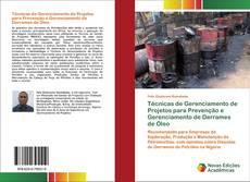 Capa do livro de Técnicas de Gerenciamento de Projetos para Prevenção e Gerenciamento de Derrames de Óleo