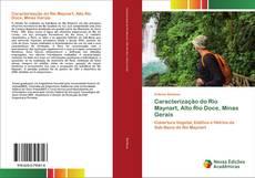 Capa do livro de Caracterização do Rio Maynart, Alto Rio Doce, Minas Gerais