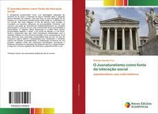 Buchcover von O Jusnaturalismo como fonte da interação social
