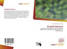 Bookcover of Ulugbek Bakayev