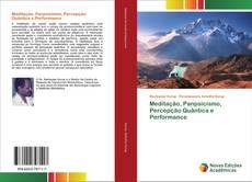 Обложка Meditação, Panpsicismo, Percepção Quântica e Performance