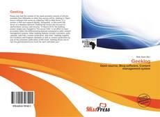 Buchcover von Geeklog