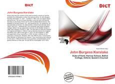 Borítókép a  John Burgess Karslake - hoz