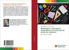 Capa do livro de Modelagem e aplicações matemáticas na confecção do molde de vestuário: