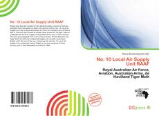 Capa do livro de No. 10 Local Air Supply Unit RAAF
