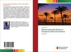 Обложка Democratização Política e Progresso Sócio-Econômico