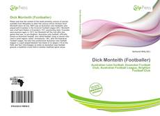 Bookcover of Dick Monteith (Footballer)