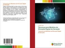 Capa do livro de Técnicas para Modelos de Elevação Digital de Geração