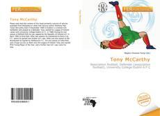 Portada del libro de Tony McCarthy