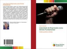 Capa do livro de Liberdade de Expressão como Direito Fundamental