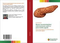 Capa do livro de Novas recomendações internacionais sobre a pancreatite aguda