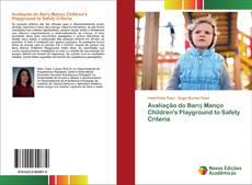 Capa do livro de Avaliação do Barış Manço Children's Playground to Safety Criteria