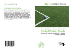 Buchcover von Football Clubs in Angola