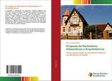 Bookcover of Proposta de Parâmetros Urbanísticos e Arquitetônicos