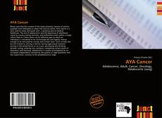 Bookcover of AYA Cancer