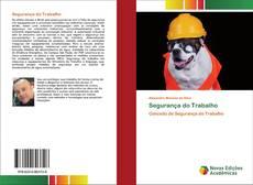 Capa do livro de Segurança do Trabalho
