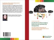 Insuficiência Pancreática Exócrina em Animais De Companhia kitap kapağı