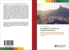 Portada del libro de A religião e o direito do trabalho brasileiro