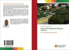 Capa do livro de Descontinuidade do Espaço Urbano