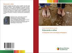 Buchcover von Educando o olhar