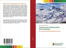 Copertina di Cópulas para Distribuições Generalizadas