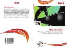 Bookcover of Maria Caserini