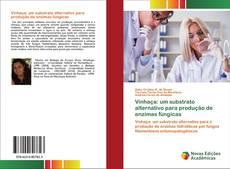 Portada del libro de Vinhaça: um substrato alternativo para produção de enzimas fúngicas