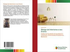Bookcover of Design de Interiores e seu Ensino