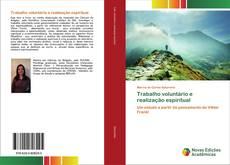 Buchcover von Trabalho voluntário e realização espiritual
