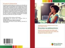 Capa do livro de Gravidez na adolescência