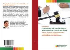 Capa do livro de Orientações da Jurisprudência do Tribunal de Contas da União