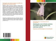 Buchcover von Adubação com nitrato-amônio no cultivo de gergelim sob estresse salino