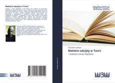 Bookcover of Niektóre odczyty w Teorii