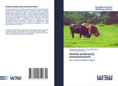 Bookcover of Analiza preferencji konsumenckich