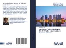 Capa do livro de Ekonomika siedziby głównej i BIZ do krajów przyjmujących