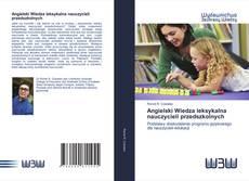 Capa do livro de Angielski Wiedza leksykalna nauczycieli przedszkolnych