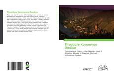 Bookcover of Theodore Komnenos Doukas