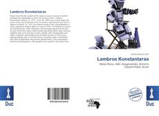 Bookcover of Lambros Konstantaras